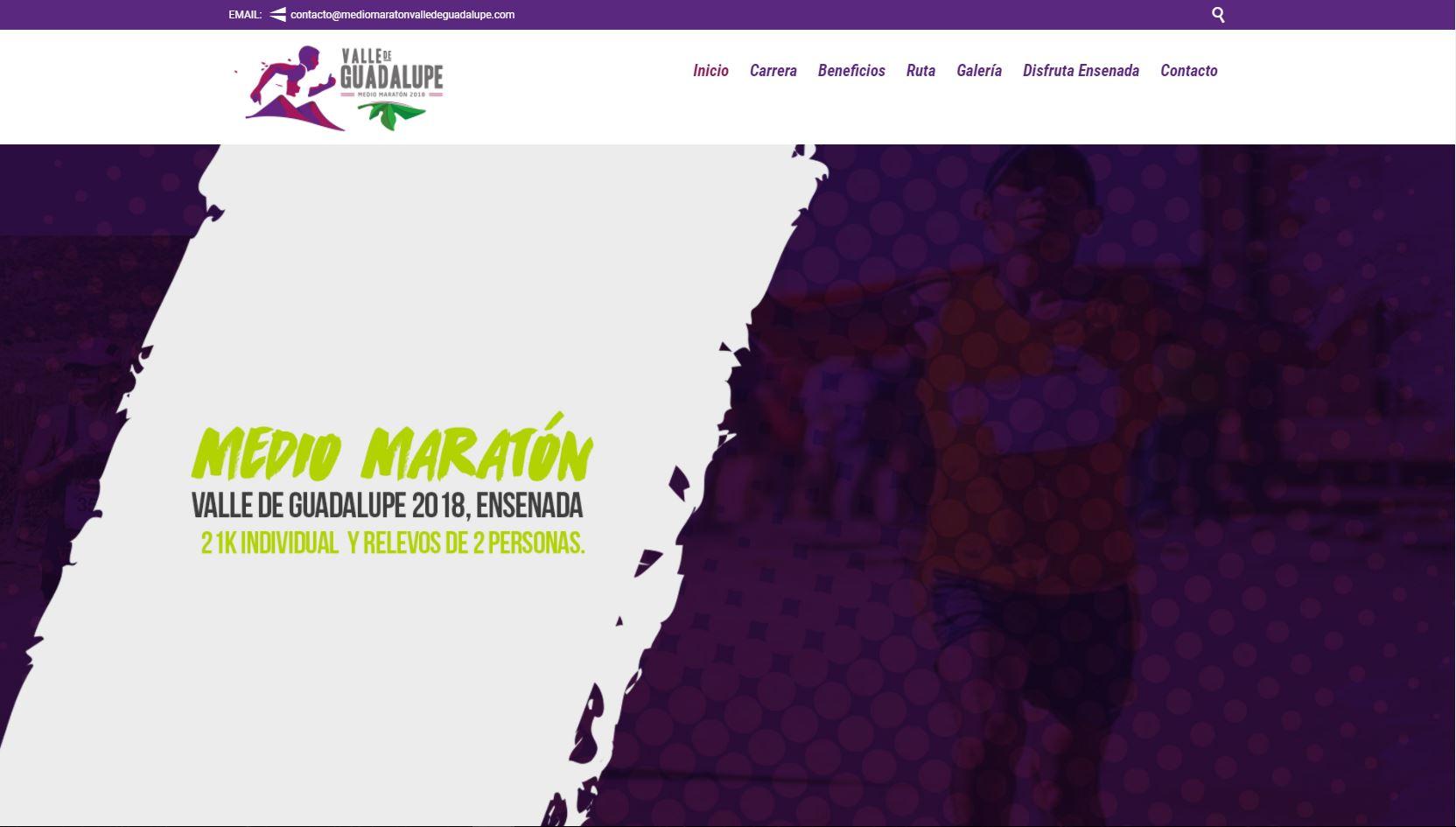 Medio Maratón Valle de Guadalupe