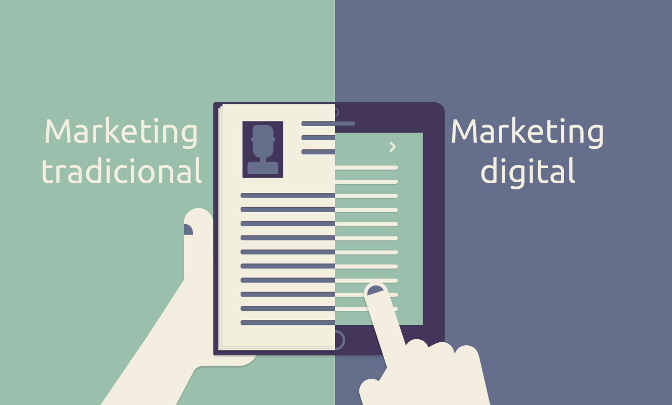 Marketing tradicional vs. Marketing Digital